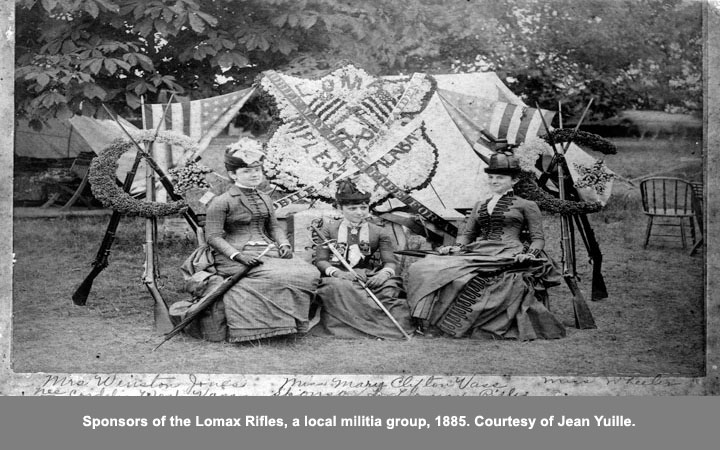 sponsors of the lomax rifles