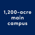 1,200-acre main campus