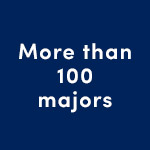 More than 100 majors