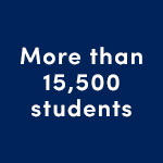 More than 15,500 students