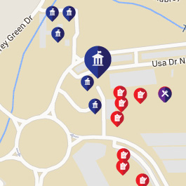 University Of South Alabama | Campus Map