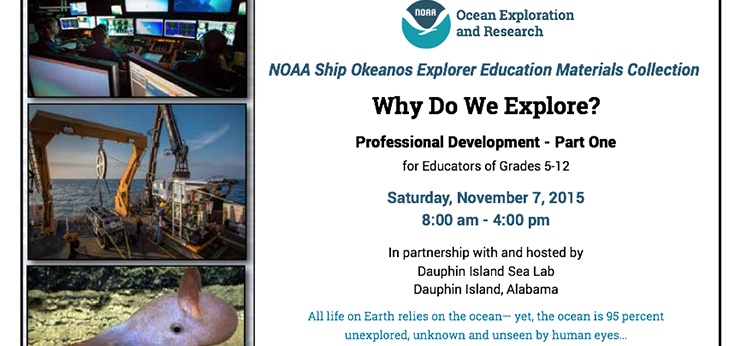 NOAA Ship Okeanos Explorer Education Materials Collection