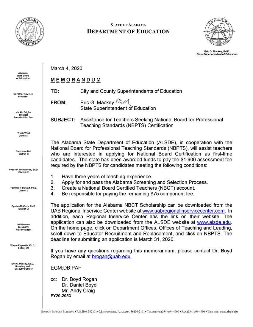board teaching national standards professional certification assistance teachers seeking nbpts social