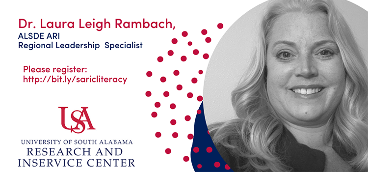 Literacy Series with Dr. Laura Leigh Rambach