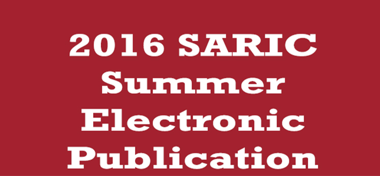 2016 SARIC Summer Electronic Publication