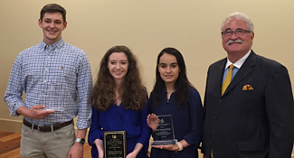 David Friedel, Lindsey Merritt, Hannah Alsheikh, and Dean Gregory Frazer