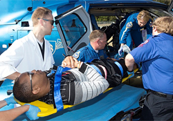 Allied Health Participates in Mass Casualty Drill