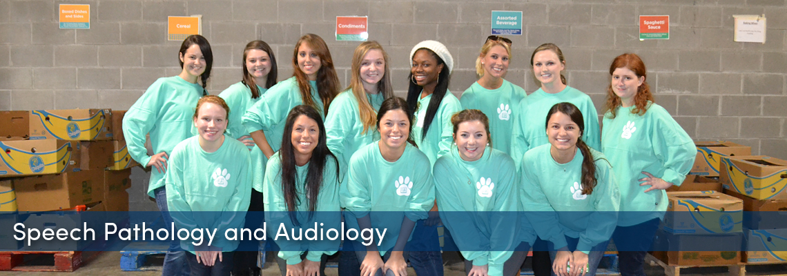 Speech Pathology and Audiology