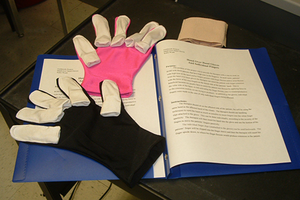 Hand Over Hand Gloves with Individual Fingers