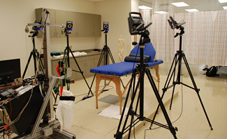 Motion Analysis lab equipment