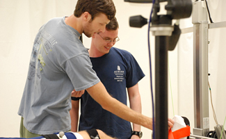 Students in Motion Analysis Lab