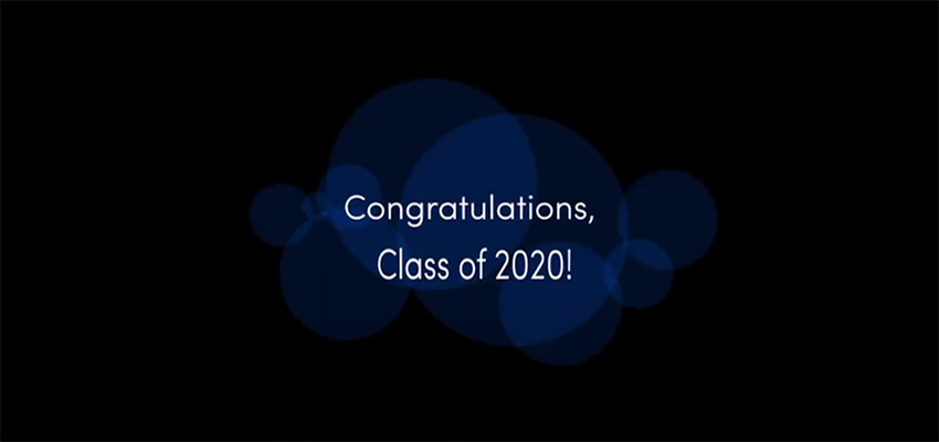 Congrats to the class of 2020