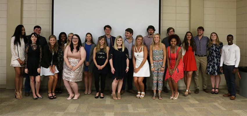 Communication Scholarship Recipients