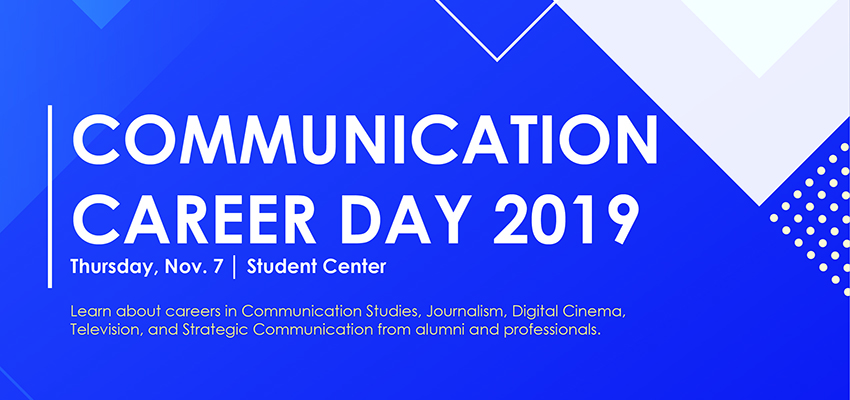 Communication Career Day 2019: November 7th