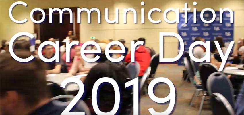Communication Career Day 2019