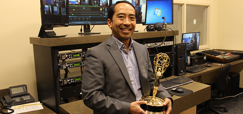 South Instructor Wins Emmy Award
