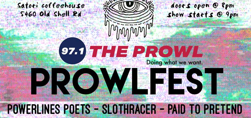 The Prowl present Prowlfest on November 16, 2019.