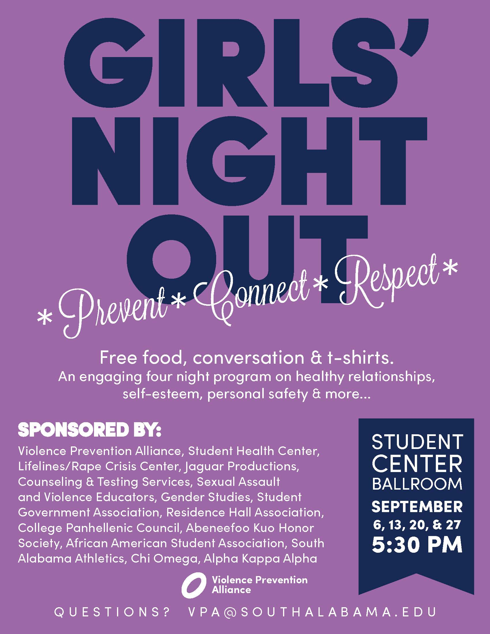 Girls Night Out Fall 2017