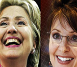 Hillary Clinton and Sarah Palin