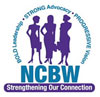 Logo for NCBW - Coalition of 100 Black Women
