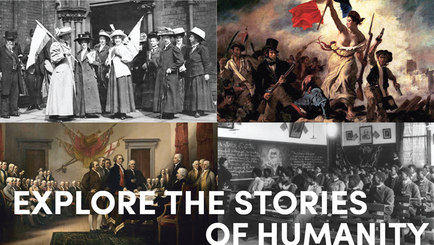 Explore the Stories of Humanity History Image