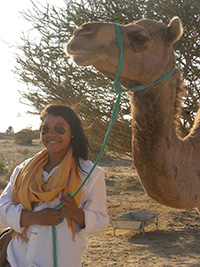 Oman with Camels