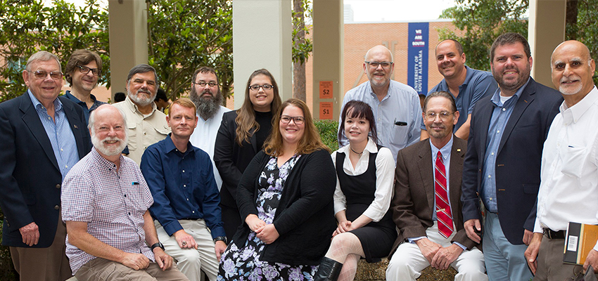 Image of faculty and staff in the Department of Political Science and Criminal Justice