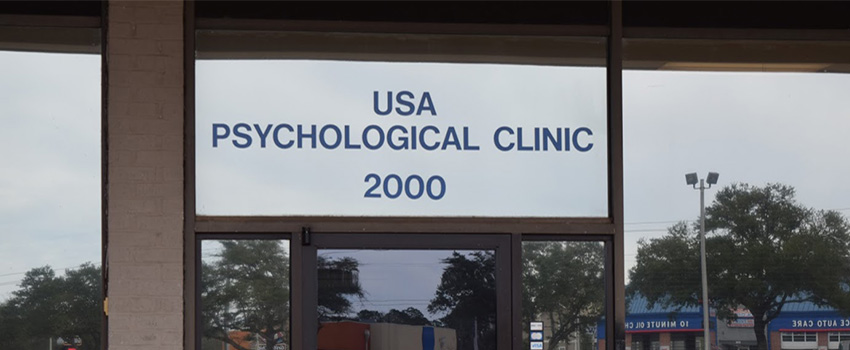 Psychological Clinic Outside Door
