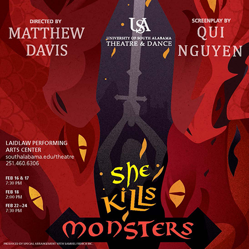 She Kills Monsters Production Poster
