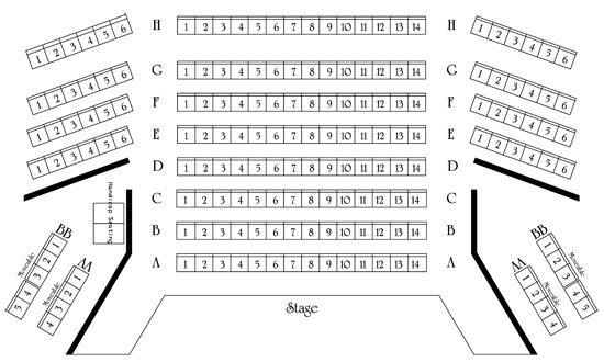 Click Here For Seating Chart