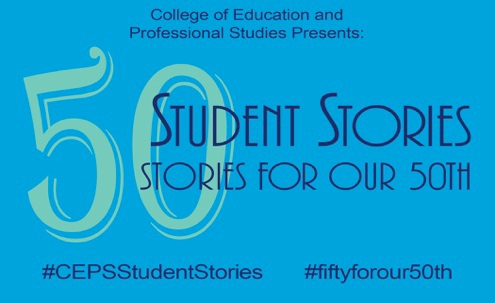 Logo: 50 Student Stories for Our 50th