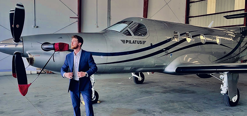 Hospitality Grad Lands Job in Private Aviation