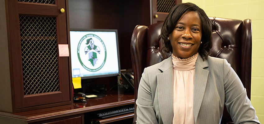 South Alumna Named Middle School Principal of the Year