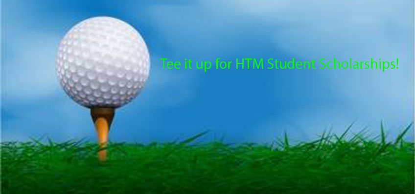 HTM Scholarship Golf Tournament is on Oct 12, 2017.