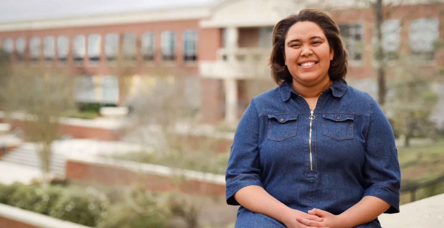 Like so many students at the University of South Alabama, Matysan McClendon balances a full class schedule with part-time jobs and extracurricular activities.