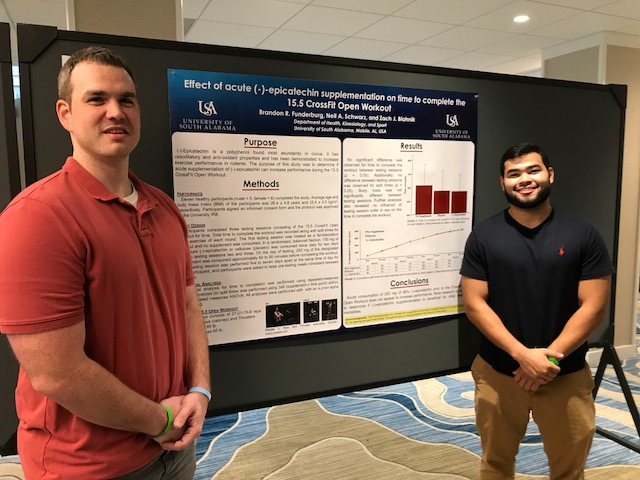 The Department of Health, Kinesiology and Sport faculty and students made several presentations on their research projects at the International Society of Sports Nutrition Conference in Tampa, Florida.