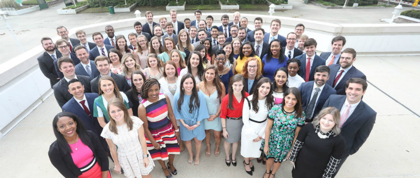 The USA College of Medicine's Class of 2018