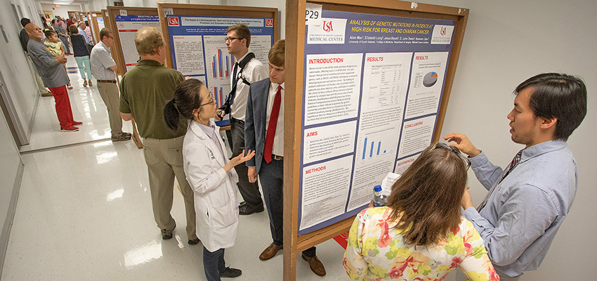 Students present their summer research projects