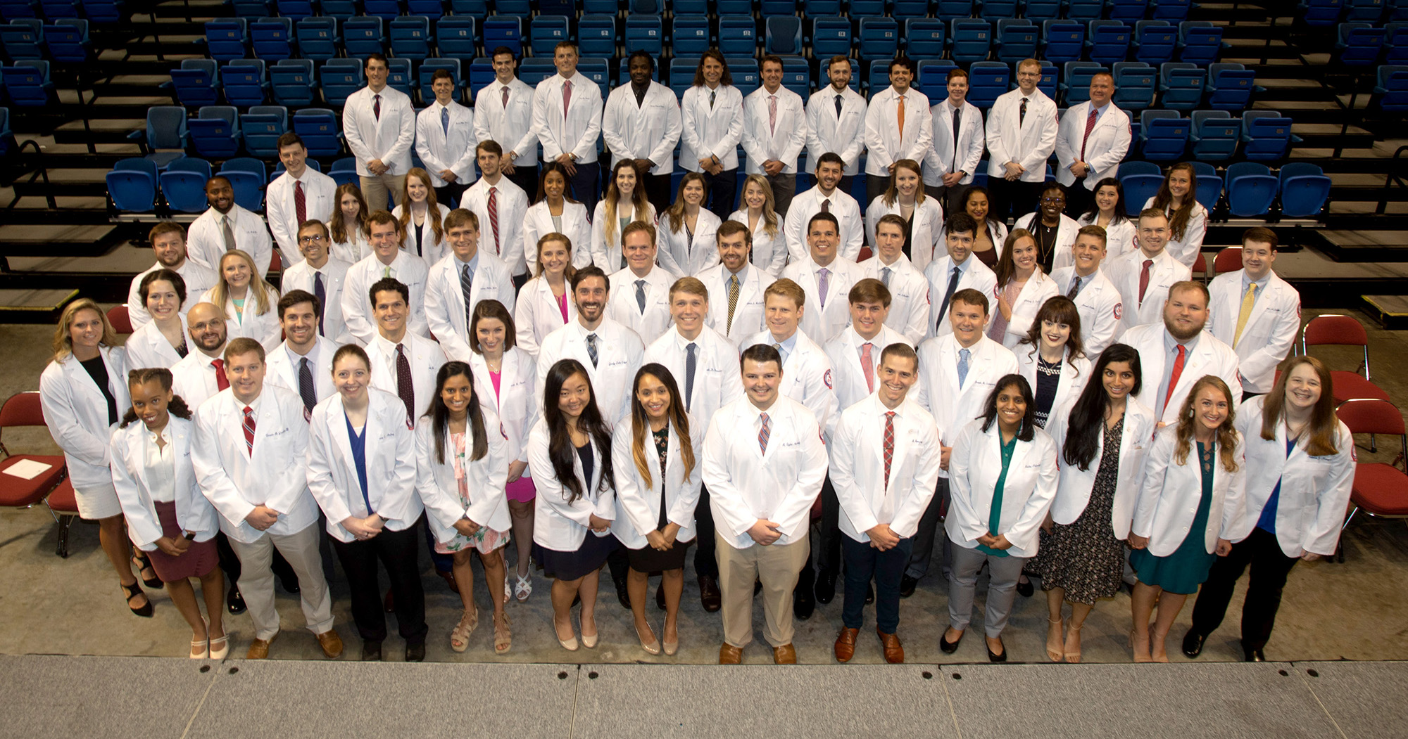 The medical students of the Class of 2020