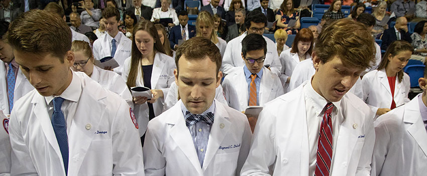 The White Coat Ceremony for the Class of 2020