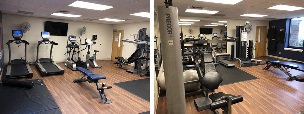 Gyms available to residents