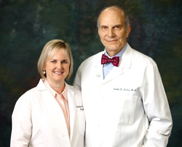 Drs. Sandra Parker and Ronald Franks