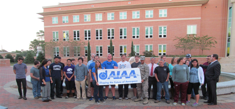 Official AIAA Kickoff Party Group Photo