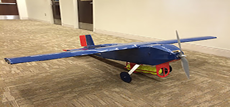 The Final Aircraft with wiffle ball holder