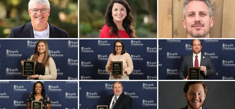USA National Alumni Association Recognizes Outstanding Faculty