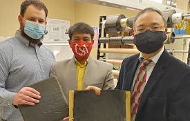 The University of South Alabama has received a $250,000 National Science Foundation Partners for Innovation grant to make next generation, high-performance carbon fiber reinforced polymer (CFRP) composites available for broad commercialization. Conventional CFRP composites, usually in laminate form, provide an excellent weight-to-strength ratio but mechanical, electrical and thermal weakness limits their potential compared with metals in many applications.