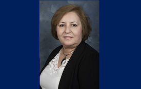 Dr. Hulya Kirkici, Chair and instructor in the Electrical and Computer Engineering department has been appointed a member of the IEEE-HKN Governing Board starting January 1, 2021.