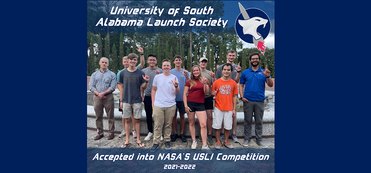USA Launch Society: 1 of 60 Selected by NASA to Compete