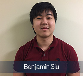 Benjamin Siu Student of the Year 2018