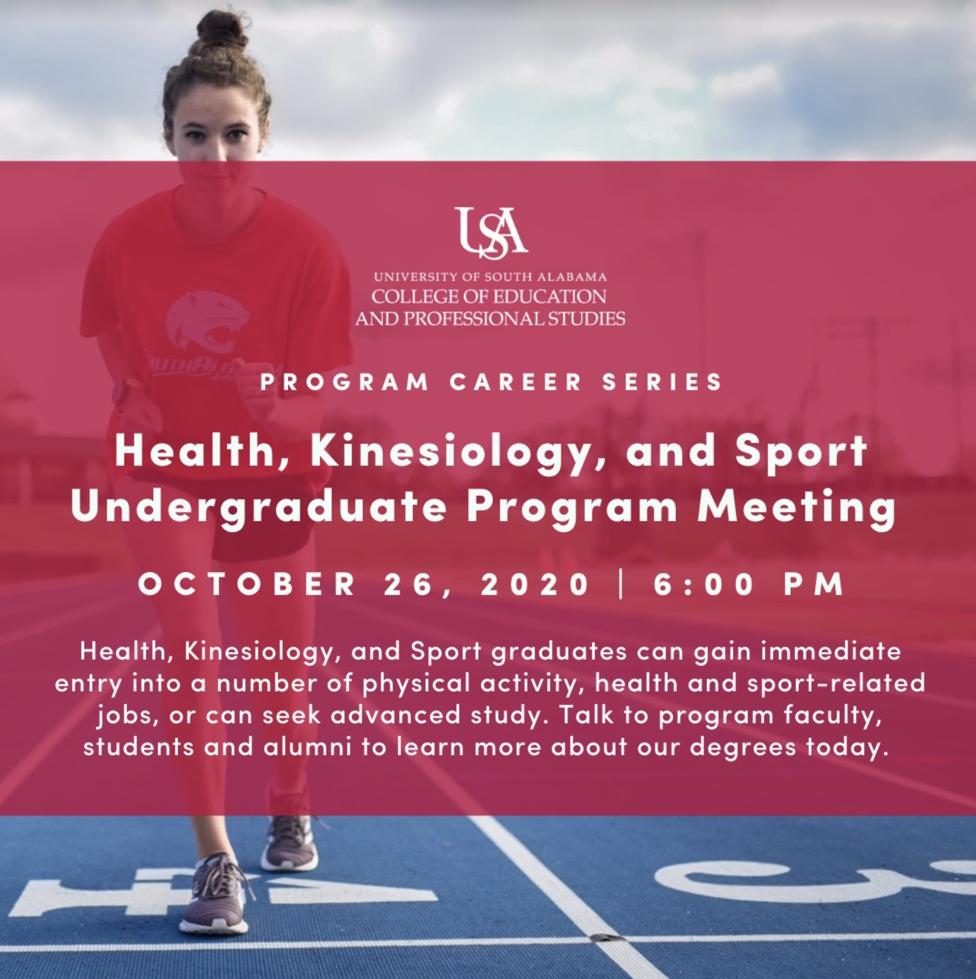 Health, Kinesiology, and Sport Zoom meeting info